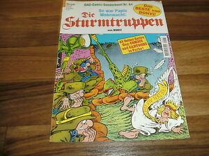 STURMTRUPPEN-64-Bonvi-1-Auflage-So-war-Papis-Wehrmacht-Opas-Chaoten-Trupp