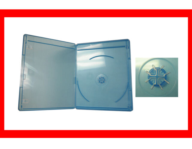 New 100 VIVA ELITE Blu-Ray Case 6mm Slim line Double Hold 2 Discs Free Shipping