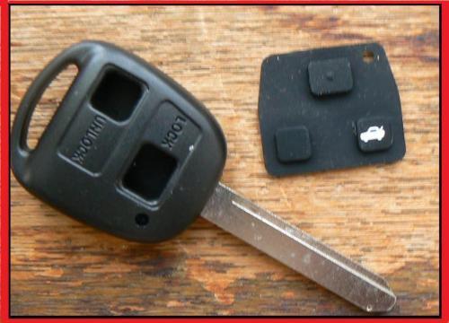 Toyota 2 Tasten Schlüsselanhänger Gehäuse Yaris Rav4 Stadt Ace