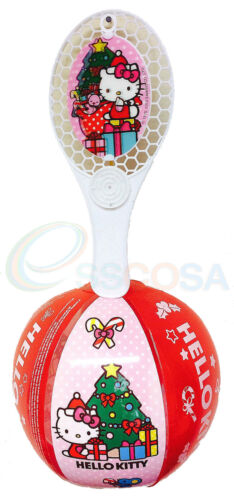 Hello Kitty Christmas Tapball Inflatable Disney Bat and Ball Childrens Toy