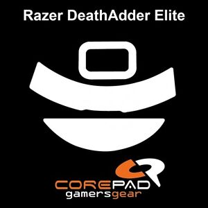 Corepad-Skatez-Razer-DeathAdder-Elite-Ersatz-Teflon-Mausfuesse-Hyperglides