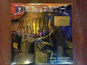 Megadeth-The-System-has-fail-Numbered-Orange-VINYL-LP-LTD-EDITION-New-Sealed