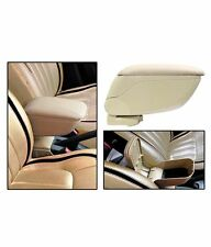 New Universal for Car Multi Console Box Center  Arm  Rest ( Beige Color)