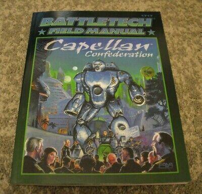 Fornitura Classic Battletech Campo Manuale Capellan Confederazione Fonte Di Riferimento Fasa Liao-mostra Il Titolo Originale Delizioso Nel Gusto