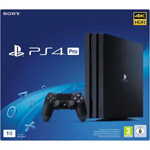 Sony-PLAYSTATION-4-PRO-NERO-1tb-cuh-7216b-NUOVO-OVP