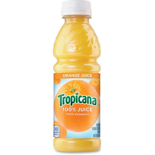 Pepsico Tropicana Orange Juice 10oz. 24/CT 75715