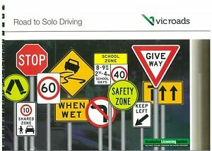 VIC ROADS Road To Solo Driving Car Learner Book Latest Edition 2019 October NEW