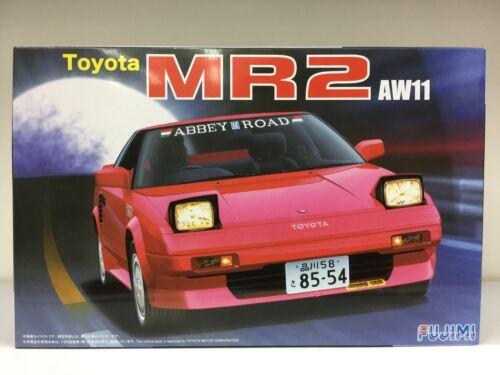 Fujimi 1//24 Toyota MR-2 Super Charger plastic Model Kit