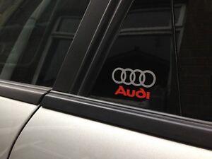 4-x-Audi-Logo-Door-Sticker-decal-vinyl-a1-a2-a3-a4-a5-a6-a8-q5-q7-50mm