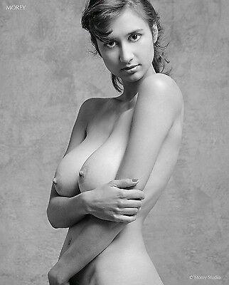 Fine Art Nude Model, 8.5x11 signed photo by Craig Morey: Natalie 35647.06