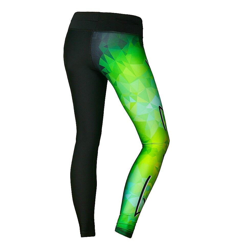 Leggings feelj power grün Grün Hose sporthose Fitnesshose Damen Hose Grün 3c7bbb