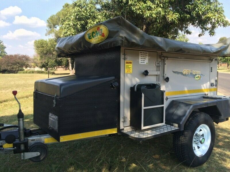 Echo & Conqueror off road camping trailers for hire