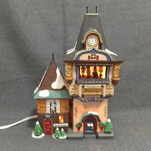 Dept 56 Glockenspiel Music Box Animated Characters in Bell Tower 56.56210