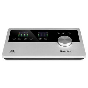 apogee quartet 4 in x 8 out usb audio portable recording interface for ios mac 805676301136 ebay. Black Bedroom Furniture Sets. Home Design Ideas