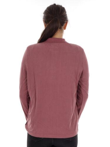 manches Maloja longues Shirt à Leisure Polo Pink Huelvam qSSvpzEn