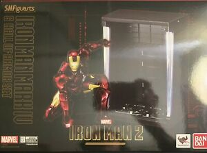 Bandai S.H. Figuarts Iron Man MK IV 4 Figure Hall of Armor Set Marvel Avengers