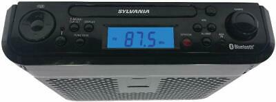 Sylvania SKCR2713 Under Counter CD Player with Radio and Bluetooth