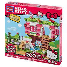 Mega Bloks 10931 - Hello Kitty Baumhaus / Tree House   NEUWARE   200 TEILE  