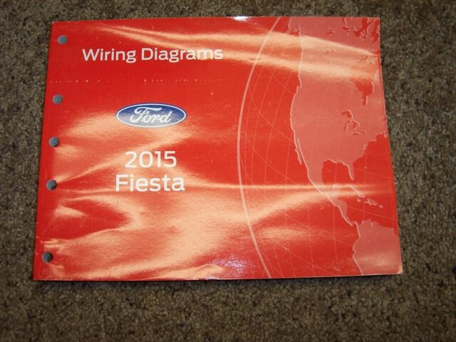 2015 Ford Fiesta Electrical Wiring Diagram Manual S Se St