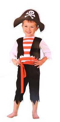 Pint Sized Pirate Toddler Costume HALLOWEEN Ahoy Matey Swashbuckler Boys