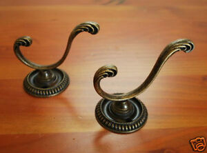 Pair-of-Iron-French-Hooks-Coat-towel-Hat-Key-Hangers