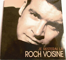 "ROCH VOISINE - CD SINGLE PROMO ""JE RESTERAI LA"" - NEUF SOUS BLISTER"