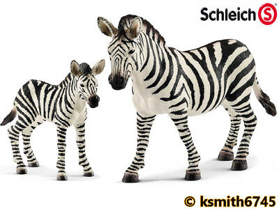 14392 Zebra yegua de Schleich zoo animal colección África wild life safari