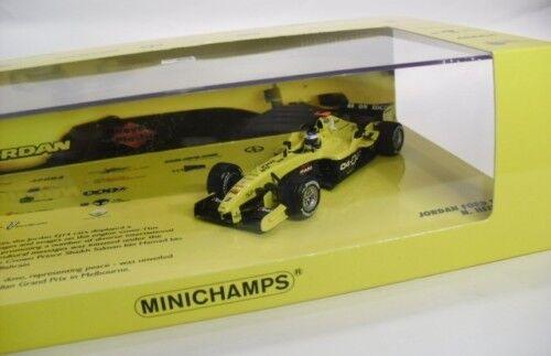 JORDAN FORD EJ14 F1 2004 N. HEIDFELD 1 43 MINICHAMPS