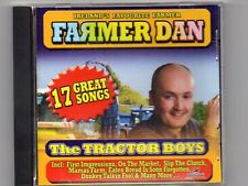 FARMER DAN - THE TRACTOR BOYS - CD -Free Post UK