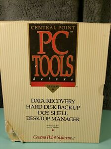 PC-Tools-Deluxe-version-6-IBM-PC-DOS-1990-Central-Point-Software-3-5-5-25