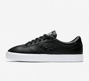 dc701ab7e846 Image is loading Converse-BREAKPOINT-OX-Men-Women-Casual-Sneakers-Black-