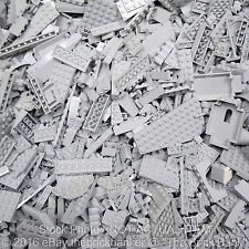 LEGO 1/4lb MEDIUM STONE LIGHT BLUISH-NEW-GREY/Bulk Pound Lot-SANITIZED-PAIRS MAT