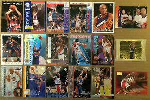 Charles-Barkely-LOT-of-29-insert-base-cards-NM-HOF-Houston-Rockets-Sixers-Suns