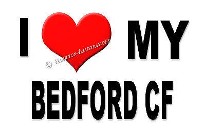 Bedford CF Nouveauté aimant Réfrigérateur I LOVE MY