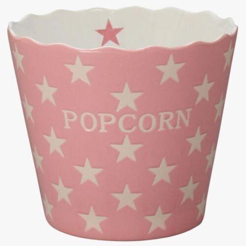 Krasilnikoff Schale Popcorn Rosa Sterne