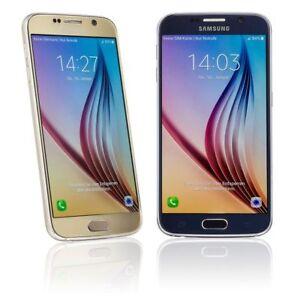 SAMSUNG-GALAXY-S6-G920F-32GB-SMARTPHONE-SCHWARZ-WEISS-GOLD-HANDLER-WIE-NEU
