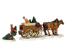 LEMAX CHRISTMAS TREE WAGON / WEIHNACHTSDORF