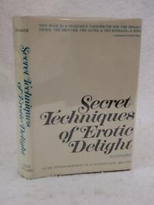 Dr. Howarth SECRET TECHNIQUES OF EROTIC DELIGHT 1966 Lyle Stuart, NY HC/DJ