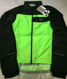 Pearl-Izumi-Elite-Escape-Barrier-Cyclisme-Veste-Vert-Homme-Taille-Small-Medium