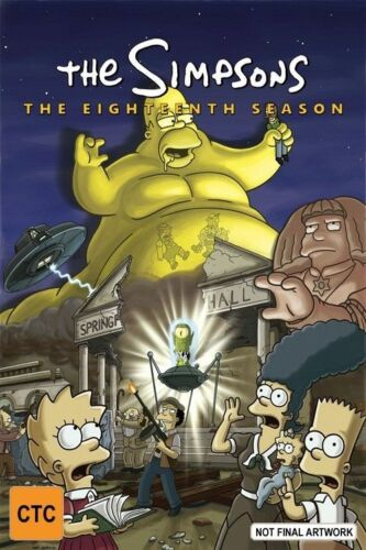 1 of 1 - The Simpsons : Season 18 (DVD, 2017, 4-Disc Set)