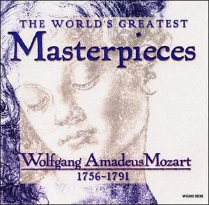 Details about The World's Greatest Masterpieces: Wolfgang Amadeus Mozart,  1756-1791 (CD, Madac
