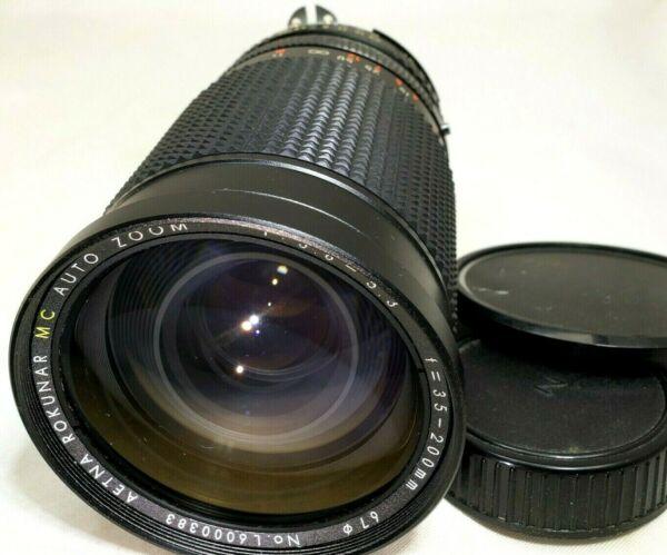 Aetna 35-200mm F3.8-5.3 Ai-s Lentille Manuel Focus Pour Nikon Fa Fe Fm Fm2 Exquis (En) Finition