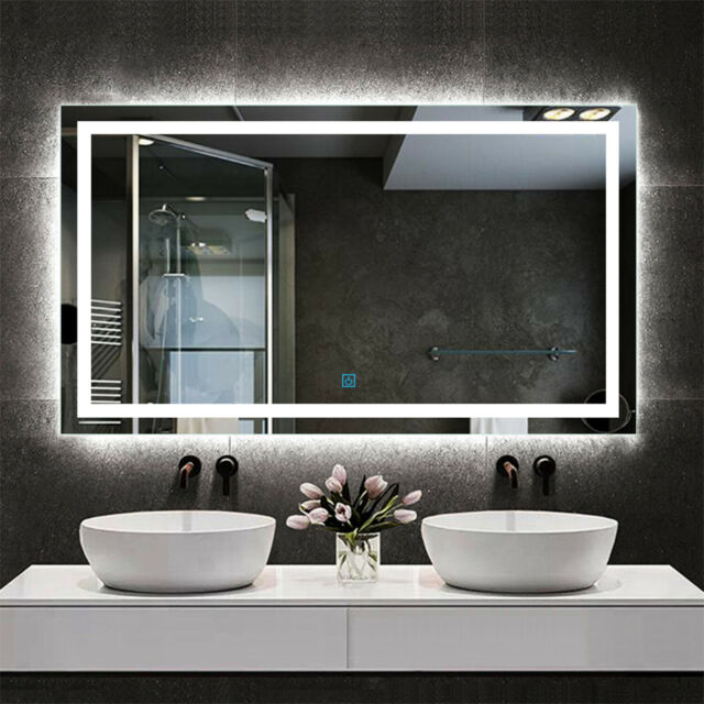 Bathroom Wall Mirror With Led Lighting