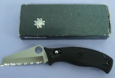 RARE Numbered C82SBK Spyderco D'allara Rescue Folding Knife