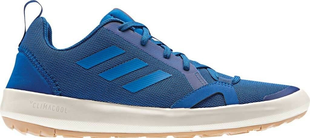Adidas Terrex Climacool Boat Running Sneaker (Men's) in bluee Beauty Chalk White