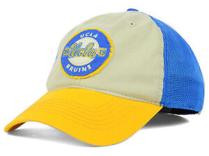 UCLA-Bruins-NCAA-Top-of-the-World-Flex-Fitted-Mesh-Cap-Hat-Size-M-L
