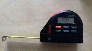 Bosh Dmb 5 Digital Tape Measure-afficher Le Titre D'origine Dans La Douleur