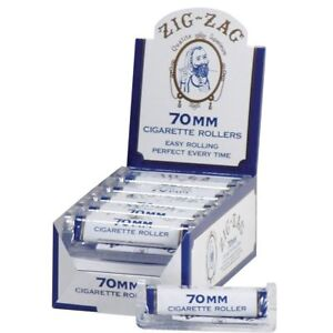 Zig-Zag-70MM-White-Cigarette-5-ROLLERS-Machine-Zig-Zag-Roll-Papers-Rolling