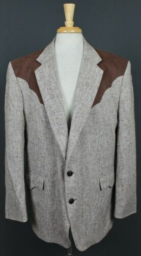 Circle S Vintage USA Western Wool Blend 2 Button S