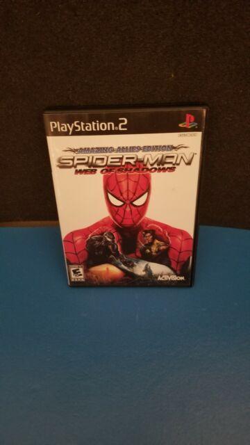 Spider-Man: Web of Shadows PS2 (Sony PlayStation 2, 2008) CIB